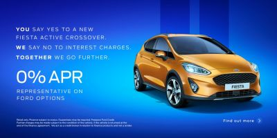All New Fiesta Active Event 19th-21st July