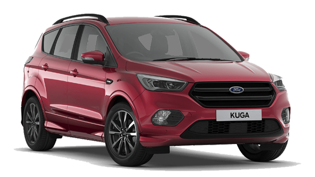 Ford Kuga - Ruby Red